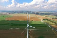 Champs éolien à Anoux 54
