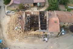 Enquête après un incendie à Chauvency le Château