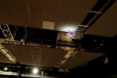 Test des détecteur incendie dans une salle de spectacle  près de Metz