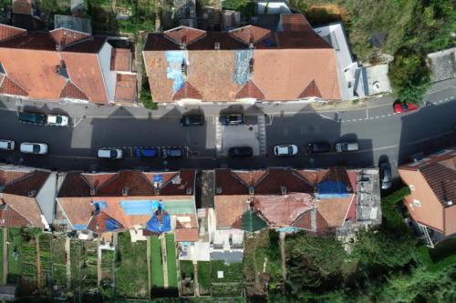 Vue du ciel drone thermo luxembourg lorraine metz thionville expert assurance tempête herserange tornade longwy